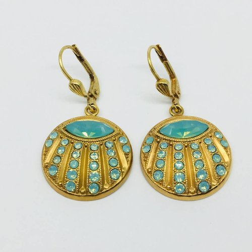 La Vie Parisienne Disc earrings