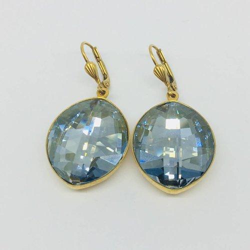 La Vie Parisienne Crystal drop earrings