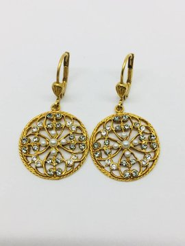 La Vie Parisienne Lever Back Earrings