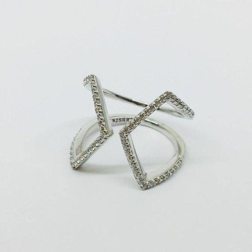 Rachael Ryen Open X Ring