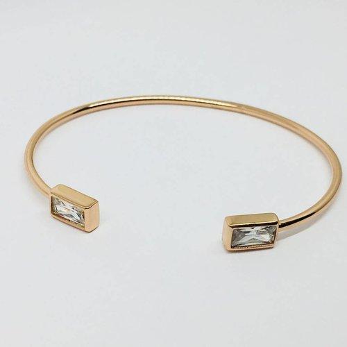 Rachael Ryen Rectangle Crystal Bracelet