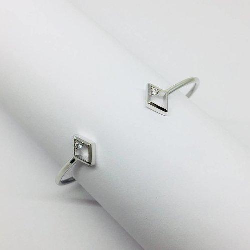 Rachael Ryen Open Diamond Bracelet