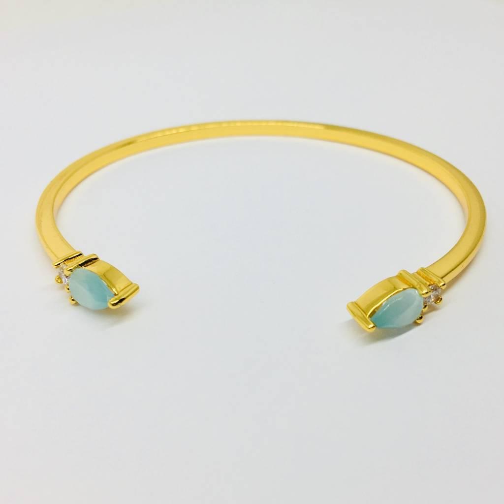 Rachael Ryen Open Stone Bracelet