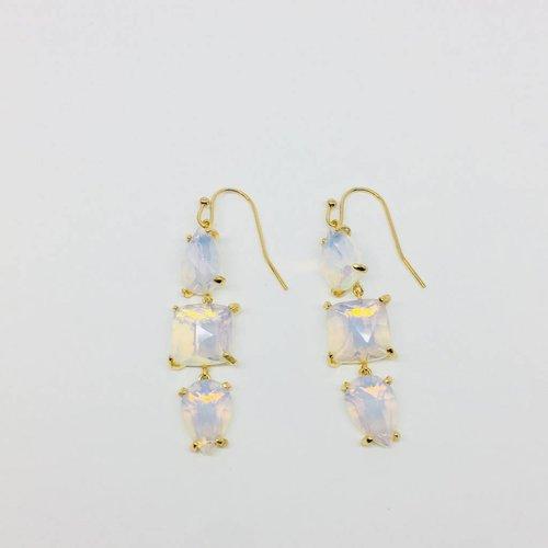 Rachael Ryen Moonstone Drop Earrings