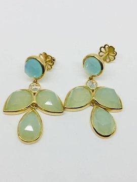 Rachael Ryen Opaltine Marquis Earrings