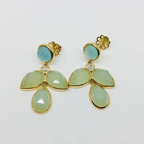 Rachael Ryen Opaltine Marquis Earrings