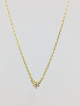 Cloverpost Choker Necklace