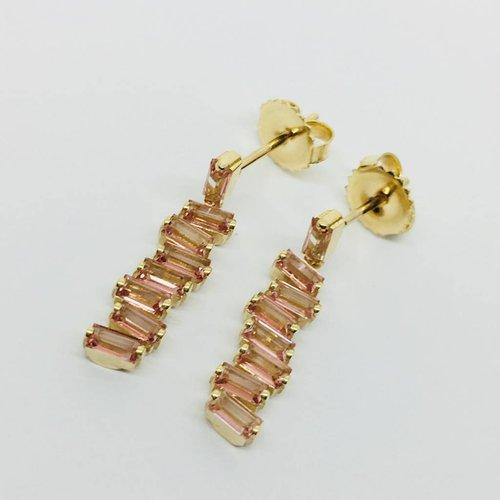 Suzanne Kalan Baguette Dangle Earring