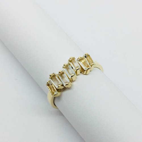 Suzanne Kalan Stacked Baguette Ring