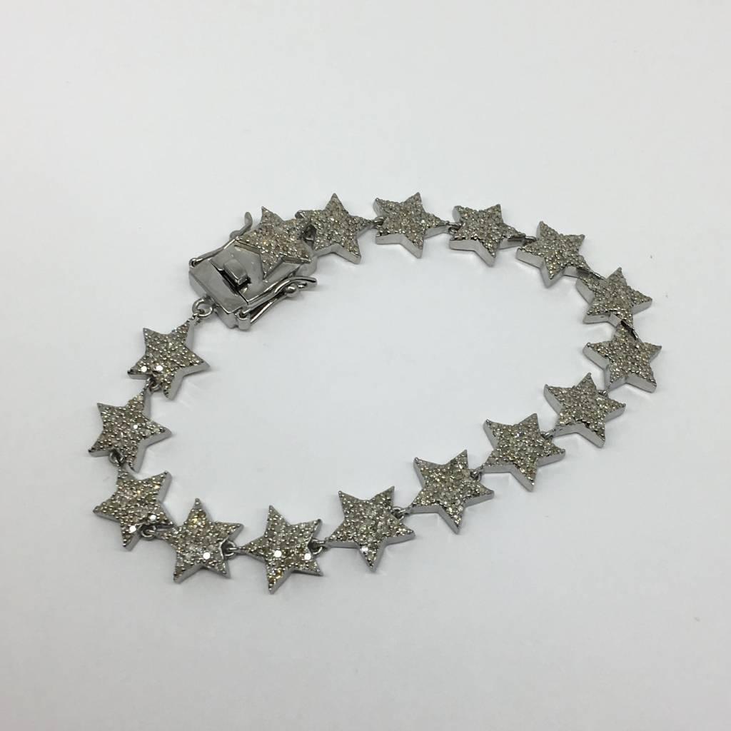 Lotasi Diamond Star Bracelet