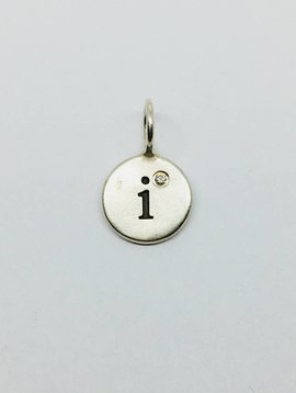 "Heather Moore ""I"" Initial Charm"