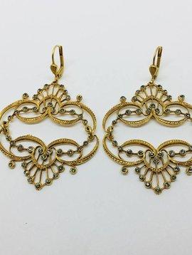 La Vie Parisienne Chandelier Earrings