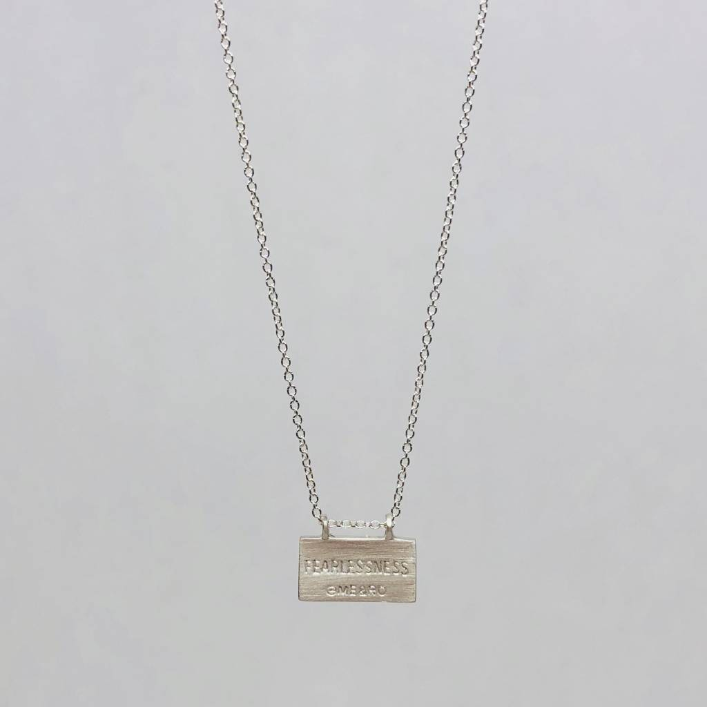 Me&Ro Fearlessness necklace