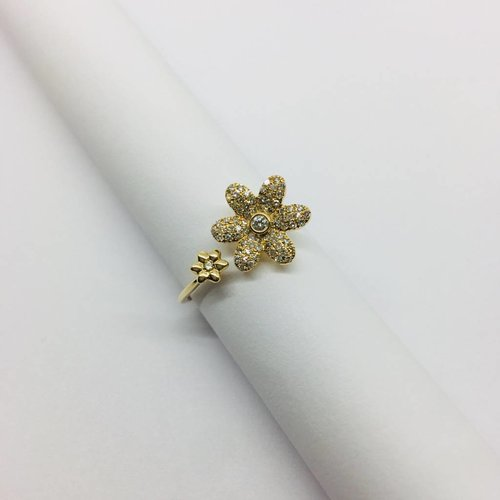 Lotasi Diamond Daisy Ring