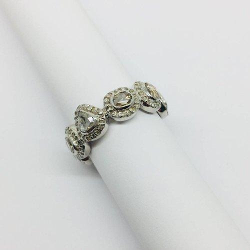 Lotasi Raw Diamond Ring
