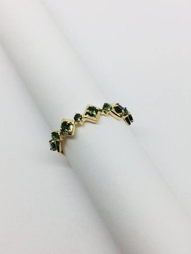 Lotasi Geometric Sapphire Ring