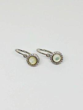Nyla Star Silver Stone Earrings