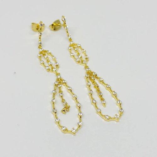 Nyla Star Grace Drop Earrings
