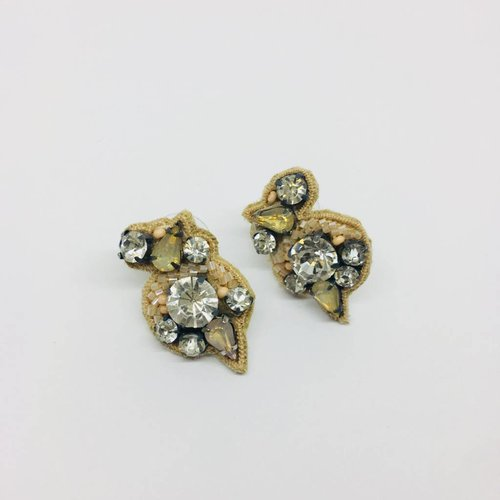 Mignonne Gavigan Gaby Nude Earrings
