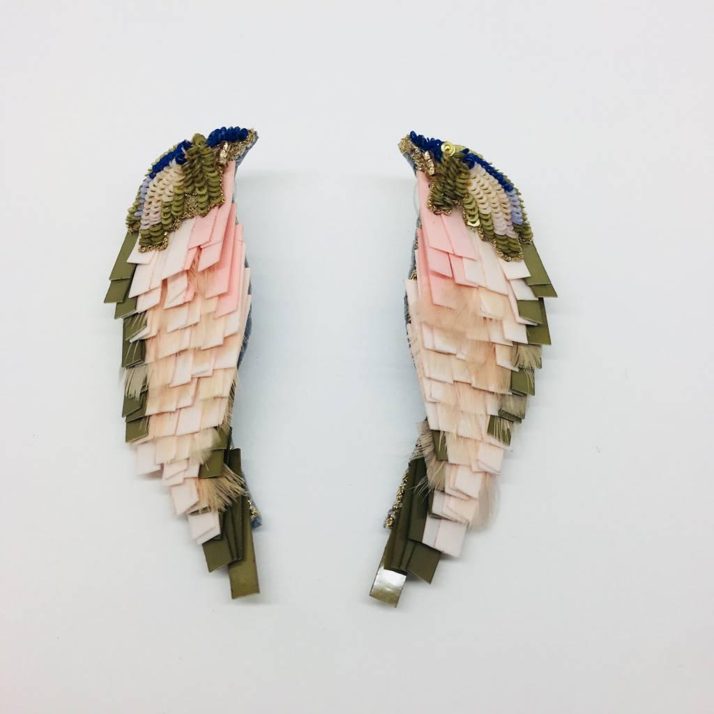 Mignonne Gavigan Tan Bird Earrings