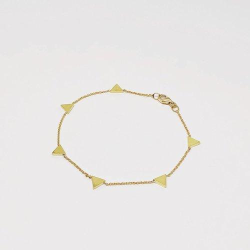 Jennifer Meyer Jennifer Meyer Triangle By The Inch Bracelet