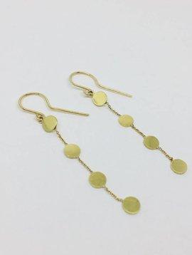 Jennifer Meyer Jennifer Meyer Small Circle Chain Earrings