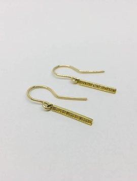 Jennifer Meyer Jennifer Meyer Drop Bar Diamond Earrings