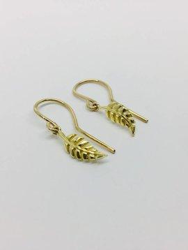 Jennifer Meyer Jennifer Meyer Mini Leaf Drop Earrings
