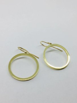Jennifer Meyer Jennifer Meyer Large Open Circle Earrings