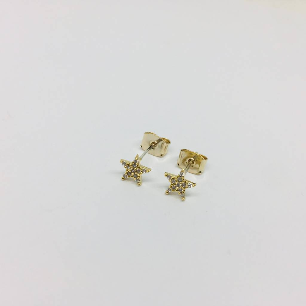 Theia Crystal Star Studs