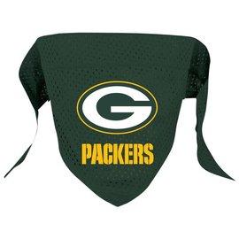 Green Bay Packers Pet Scarf/Bandana - Small/Medium