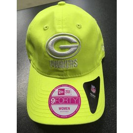 Green Bay Packers Womens 9-40 Fashion Essential Bright Yellow Hat