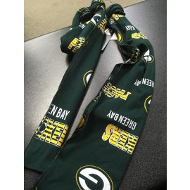 Green Bay Packers Cotton All Over Print Scarf