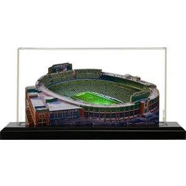 """Green Bay Packers 9"""" Light Up Lambeau Field with Display Case"""