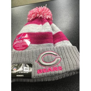 Chicago Bears Womens 16 BCA Cuffed Knit Hat