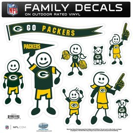Green Bay Packers Family Decals