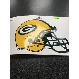 Green Bay Packers Vinyl Helmet Decal