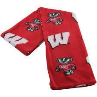 Wisconsin Badgers All Over Print Fuzzy Pants