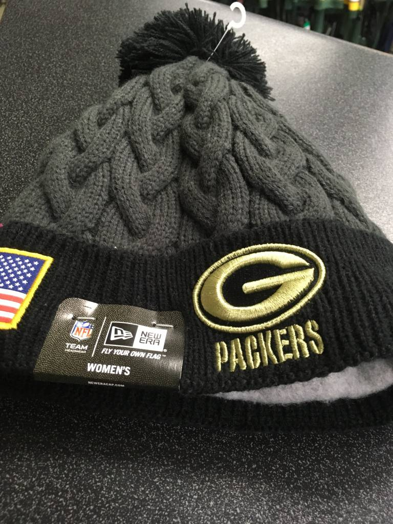 ... switzerland green bay packers womens 16 sts cuffed knit hat c9267 129de c24f28b91