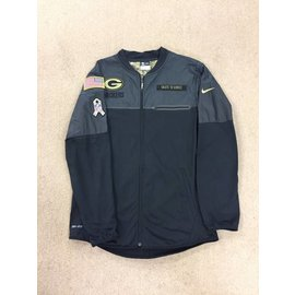 Green Bay Packers Men's Salute to Service Full Zip Hybrid Jacket