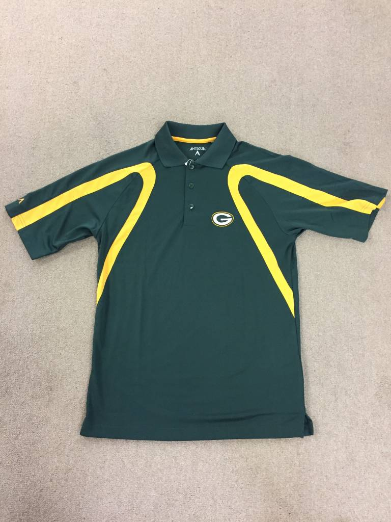 Green Bay Packers Point Polo Shirt Packerland Plus