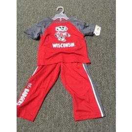 Wisconsin Badgers Toddler 2 Pc Tee & Pant Set