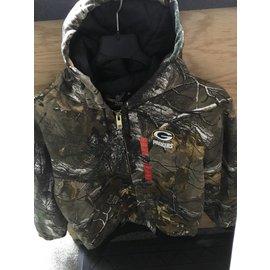 Green Bay Packers Men's Camo Full Zip Jacket