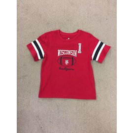 Wisconsin Badgers Infant Red Short Sleeve Tee