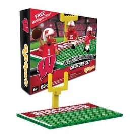 Wisconsin Badgers End Zone Set