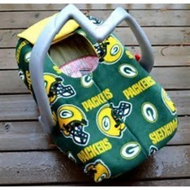 Green Bay Packers Car Seat Canopy
