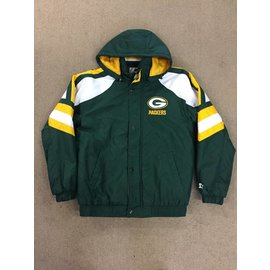 Green Bay Packers Men's Green Starter Jacket