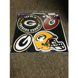 Green Bay Packers 4 Pack Magnet Set