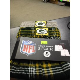 Green Bay Packers Men's 2 Pack Boxers