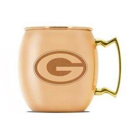 Green Bay Packers 16oz Copper Moscow Mule Mug